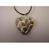 Sculptured Heart Pendant