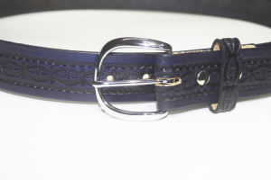 Embossed Blue belt
